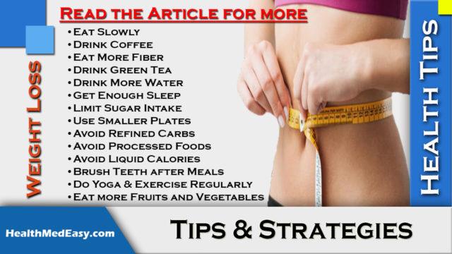 Weight Loss Tips & Strategies - HealthMedEasy.com
