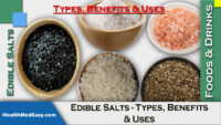 Edible Salts - Types and Uses (in details)